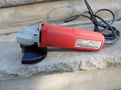 Milwaukee Sander-Grinder 4-1/2 With Guard 6140 W/EXTRAS
