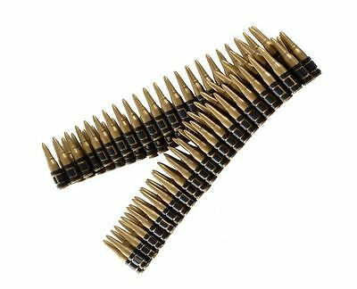 Army War Time Bullet Belt Sexy Over Shoulder Fancy Dress Costume Accessory Fun
