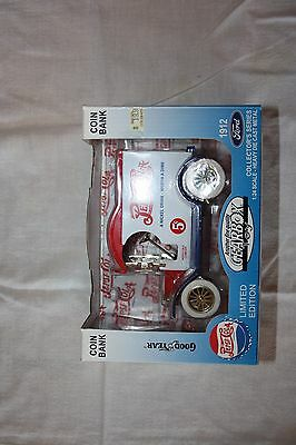 Pepsi Gearbox Toy Ford Car Coin Bank