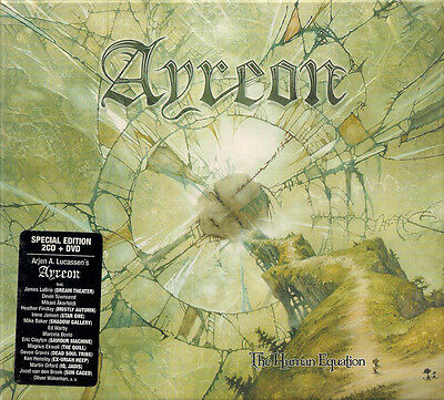 Ayreon - The human equation  rares 2CD + DVD  Box-Set