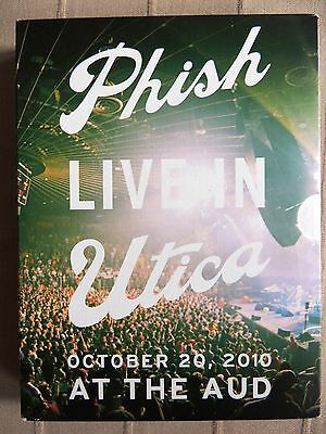 Phish - Live in Utica    2 CD + 2 DVD-Set