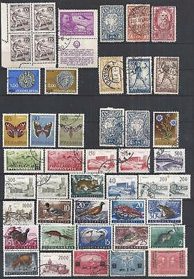Yugoslavia - Nice Lot - Mostly Used - Mixed Condition - 2 Scans