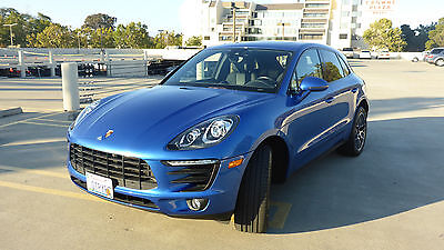2017 Porsche Macan S 2017 Porsche Macan S - Sun Roof - Bose - Joining the Porsche club - Priceless