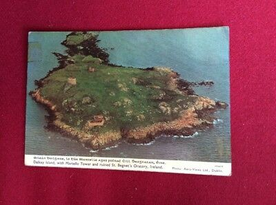Vintage Dalkey Island, Dublin Ireland Postcard - Aero Views Ltd