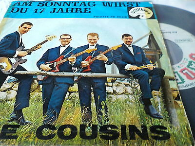 "7""  *60's* THE COUSINS - Marilyn *very rare"