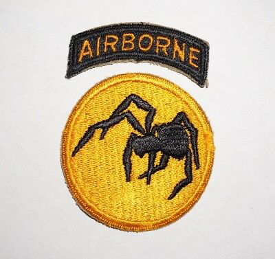 135th Airborne Division Patch WWII US Army P4613