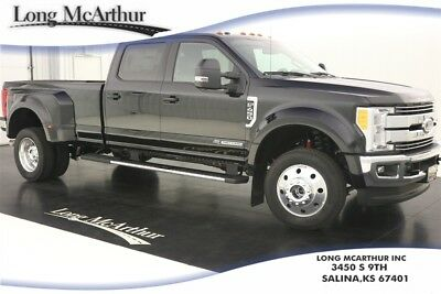 2017 Ford F-450 LARIAT 4X4 SUPER DUTY CREW CAB MSRP $71195 NAVIGATION, LEATHER SEATS, REMOTE START, ULTIMATE TRAILER TOW CAMERA