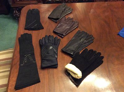 Seven Pair Of women's Gloves
