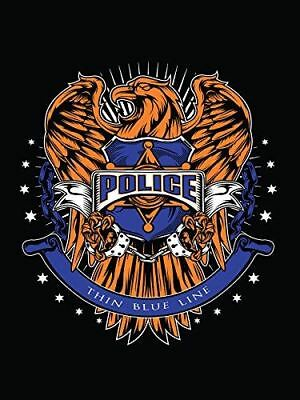 Thin Blue Line Poster Police Poster Police Gifts 18x24