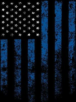 Thin Blue Line Poster Thin Blue Line Flag Police Motivation Poster 18x24