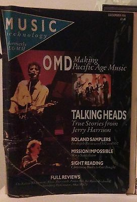 2 music mag featuring OMD and Jerry Harrison from Talking Heads