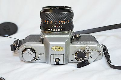 YASHICA FX-2 35MM SLR FILM CAMERA DSB 50mm 1.9 LENS GREAT FOR STUDENT WORKS