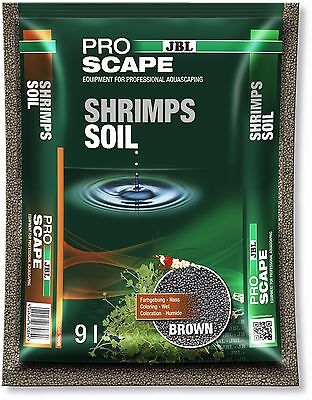JBL ProScape Shrimp Soil Brown 9L Active Shrimps Soil Aquarium Substrate