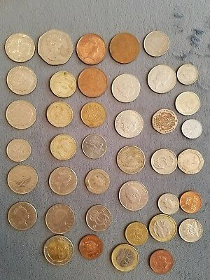 1 lot 40 european coins
