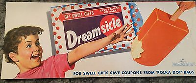 NOS Dreamsicle Ice Cream Advertising Poster