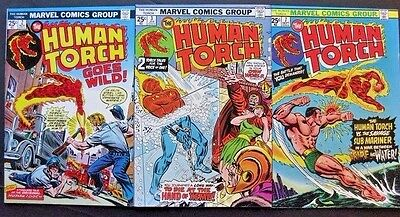 Human Torch # 2 3 7 (Lot Of 3) Sub-Mariner - Stan Lee/jack Kirby - High Grades !