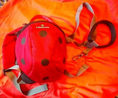 Littlelife Ladybird Toddler Animal Daysack With Safety Handle 1-3Yrs
