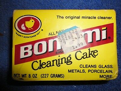 New Vintage?? cleaning cake bar soap Bon Ami unopened unwrapped sealed - 8 oz.