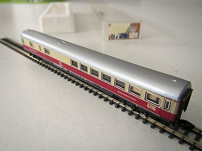 Marklin mini-club 8736 TEE DB Restaurant Car Boxed 1:220 Z Scale