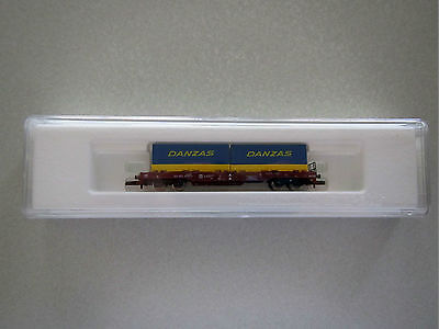 "Marklin mini-club 82280 Freight Car ""DANZAS"" Boxed 1:220 Z Scale"