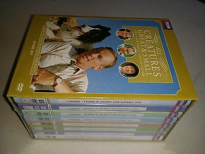 All Creatures Great and Small Complete series collection ,1-7 DVD BOX SET,