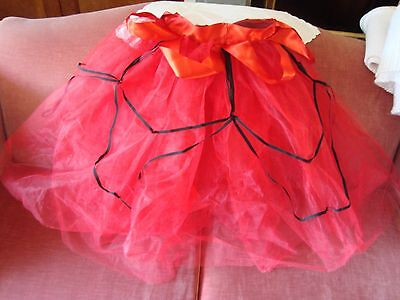 Capezio Red Dance/Ballet Tutu, Skirt, Spanish, Nutcracker, Adult, S