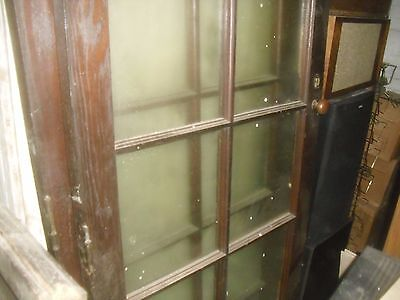 Antique French Doors  circa 1900 10 pane windows