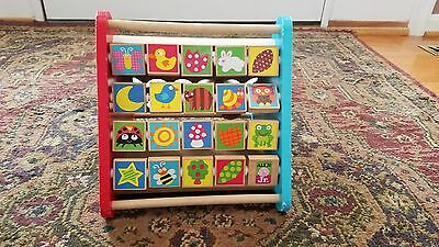 Beautifully colorful Infant activity play set  (primary colors for baby)