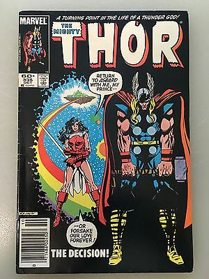 Lot of 4: The Mighty Thor - 336, 341, 344, 345, Simonson, (Marvel 1984)
