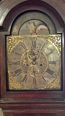 Antique English Grandfather Clock John Cole 1729 Tall Case