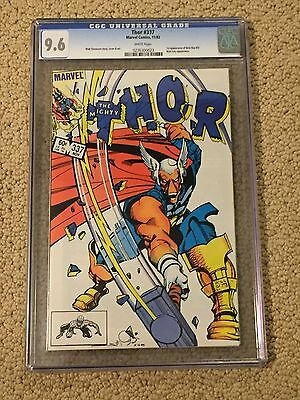 Thor 337 CGC 9.6 White Pages (1st app of Beta Ray Bill)