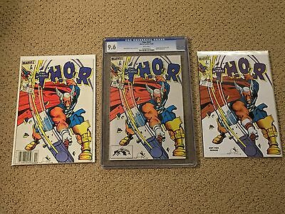 Thor 337 CGC 9.6 White Pages + two extra copies!! (1st app of Beta Ray Bill)