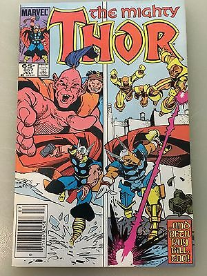 Lot of 4: The Mighty Thor - 357-360, Simonson, (Marvel 1985)