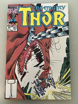 Lot of 5: The Mighty Thor - 361-365, Simonson, (Marvel 1986)