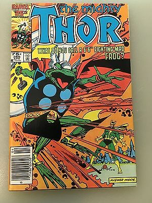 Lot of 5: The Mighty Thor - 366-370, Simonson, (Marvel 1986)