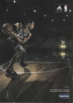 2006 Gilbert Arenas for Finish Line Sneakers print ad   Great to frame!