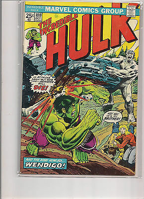Incredible Hulk #180 1974 1st Print Marvel Comic First Appearance of Wolverine!