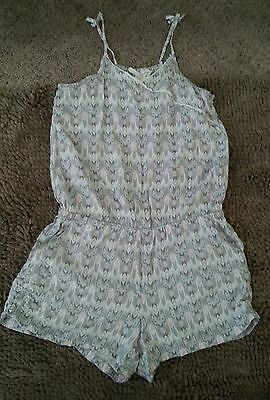 LOGG by H&M*Gray Girl's Romper*Size 11/12Y*EUC