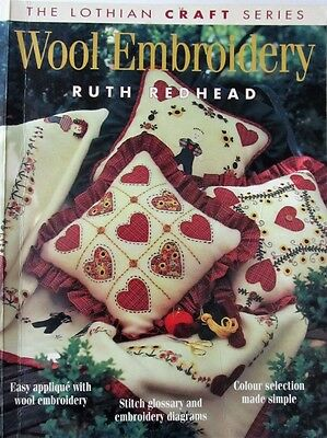 Wool Embroidery Projects Lothian Craft Series by Ruth Redhead Paperback 72 Pages