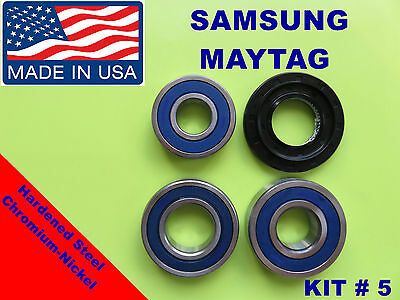 FRONT LOAD WASHER,3 TUB BEARINGS AND SEAL, Samsung , KIT # 5 ,DC62-00156A