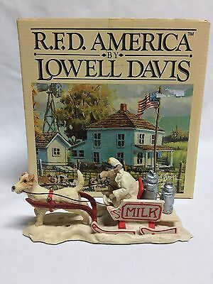 Lowell Davis Milk Mouse Limited Edition Figurine Mint w/ Box MIB