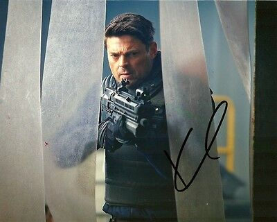 Almost Human Karl Urban Autographed Signed 8x10 Photo COA