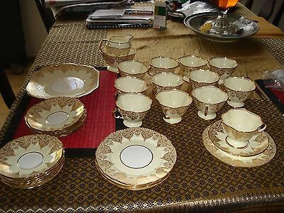 Hammersley & Company 1939  Vintage 'Gold' China