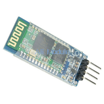 New HC-06 4 Pin Wireless Bluetooth RF Transceiver Module RS232 with Backplane