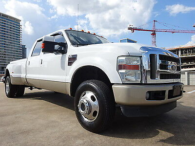 2008 Ford F-350 FX4 KING RANCH 2008 FORD F350 FX4 KING RANCH DIESEL DRIVES GREAT CREW CAB DUALLY WARRANTY CLEAN