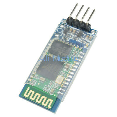 2PCS HC-06 4Pin Wireless Bluetooth RF Transceiver Module RS232 with Backplane