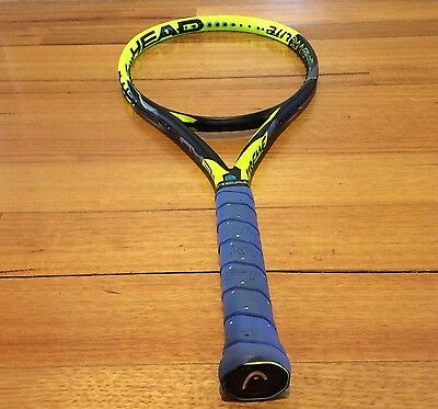 "As New Head Graphene Touch Extreme Lite 27"" Tennis Racquet Grip 4 1/8  RRP $229"
