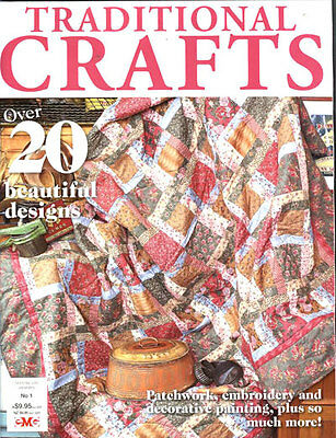 MAGAZINE -  TRADITIONAL CRAFTS No. 1