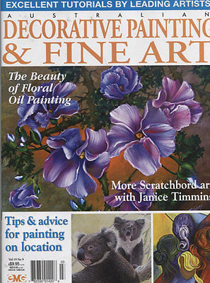 MAGAZINE -  FINE ART & DECORATIVE PAINTING Vol 19 No 9