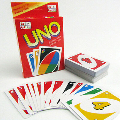 Family Funny Entertainment Board child Game UNO Fun Poker Playing Cards Puzzle G